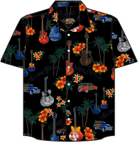 Guitar Hawaiian Shirt