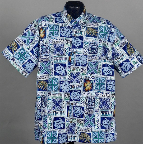 Hawaiian Aloha shirts Usa Made by High Seas Traduing Co.