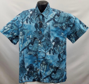 Zombie Hawaiian Shirt