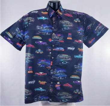 Classic Car Hawaiian Shirt