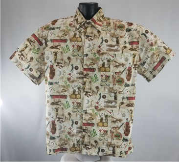 Golfing Hawaiian shirt
