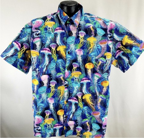Jellyfish Hawaiian shirt