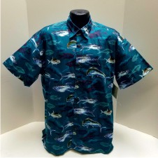 Saltwater Fishing Hawaiian shirt
