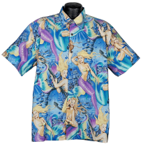 Mermaid Hawaiian Shirt