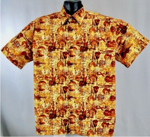 Classical Music Hawaiian Shirt