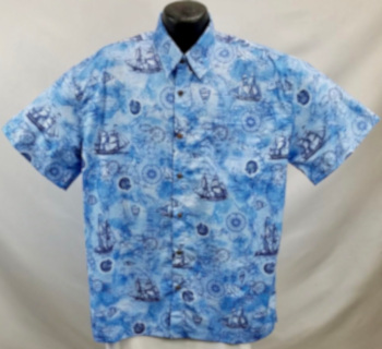 Vintage Clipper Shirt Hawaiian Aloha Shirt