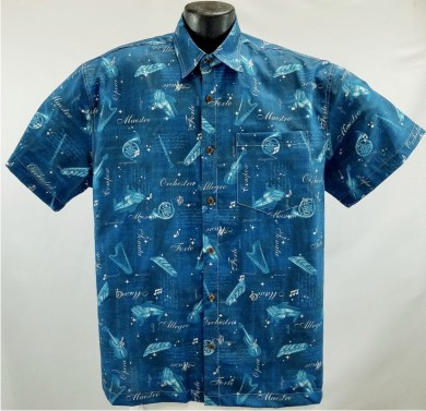 Classical Instruments Hawaiian Shirt