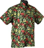 Red and Green Chile Hawaiian Shirt