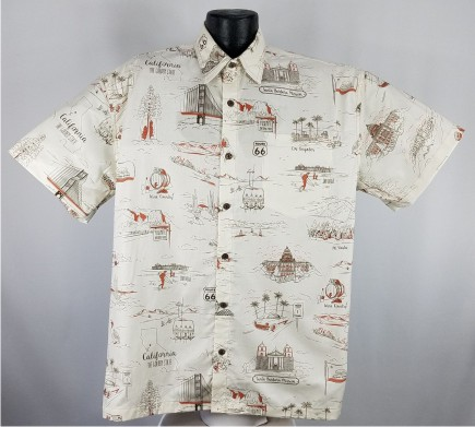 California Hawaiian shirt