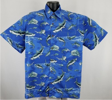 Shark  Hawaiian Shirt