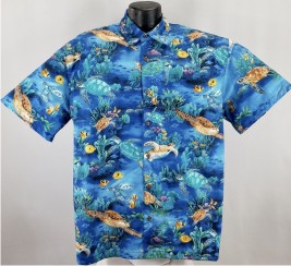Seas Turtle Hawaiian Aloha shirt